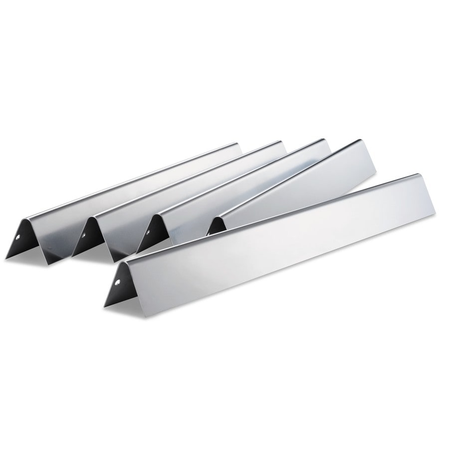 Weber 5-Pack Stainless Steel Heat Plates