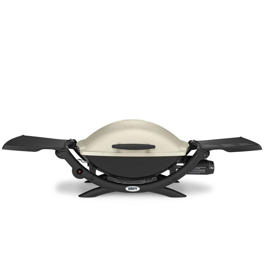 c65deb42fe129e Weber Q Titanium 1-BTU 280-sq in Portable Gas Grill at Lowes.com