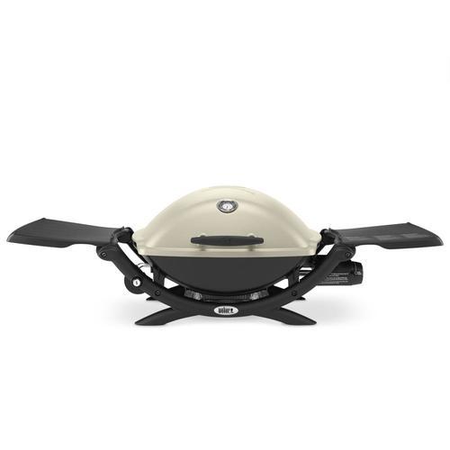 Weber Q 2200 Titanium 12000-BTU 280-sq in Portable Gas Grill