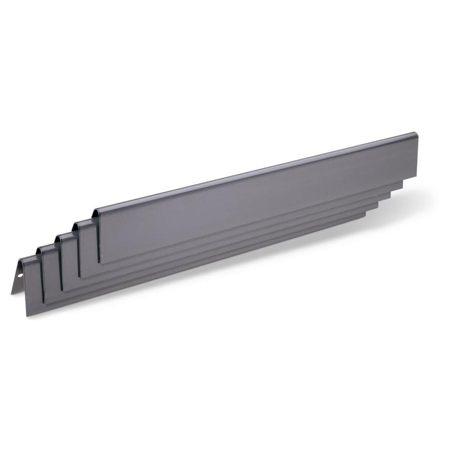 Weber 5-Pack Porcelain-Coated Steel Heat Plate