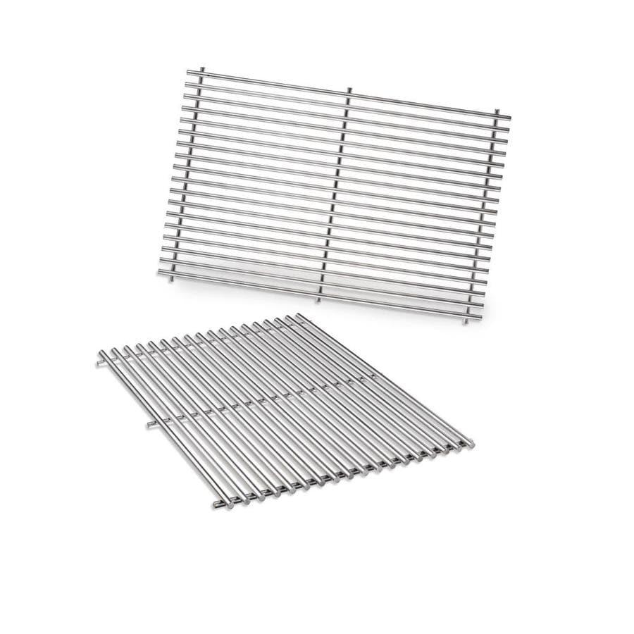 shop weber 2 pack rectangle stainless steel cooking grates at. Black Bedroom Furniture Sets. Home Design Ideas