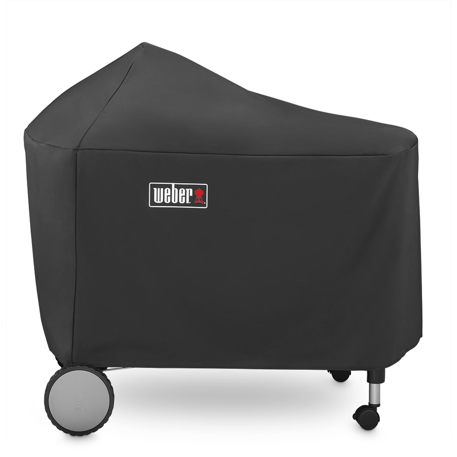 Weber Black Polyester Polyester 53-in Cover