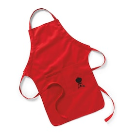 Weber Red Cotton Grilling Apron