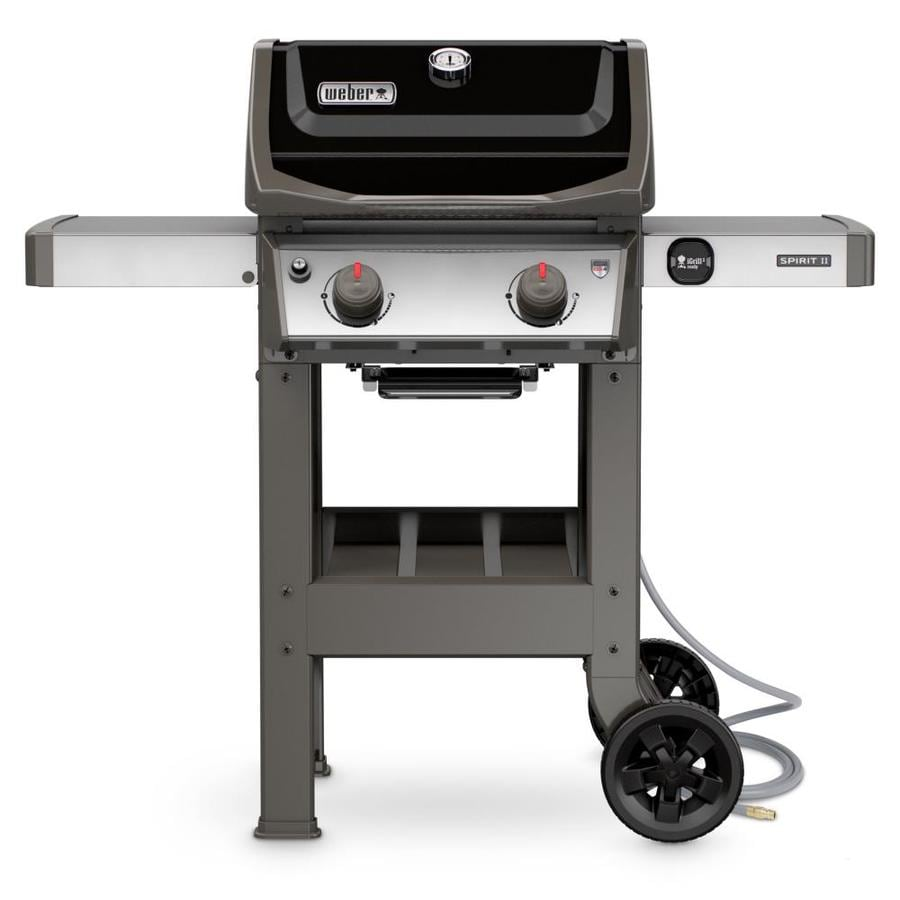 Weber Spirit Ii E 210 Black 2 Natural Gas Grill At Lowes Com