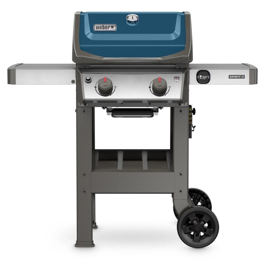 shop weber spirit ii e 210 sapphire 2 burner liquid propane gas grill at. Black Bedroom Furniture Sets. Home Design Ideas