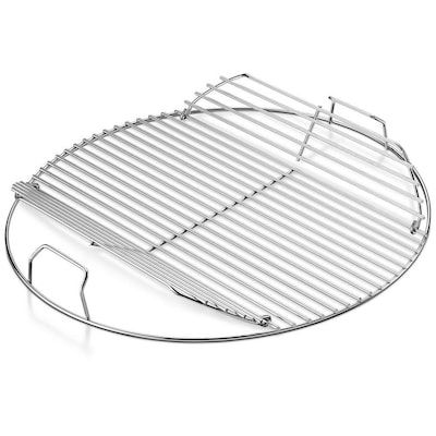 uk availability f0f6d d9fec 17.2-in x 17.2-in Adjustable Width Round Plated Steel Cooking Grate