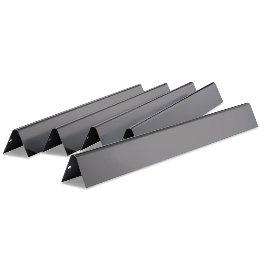Weber 5-Pack Porcelain-Coated Steel Heat Plates