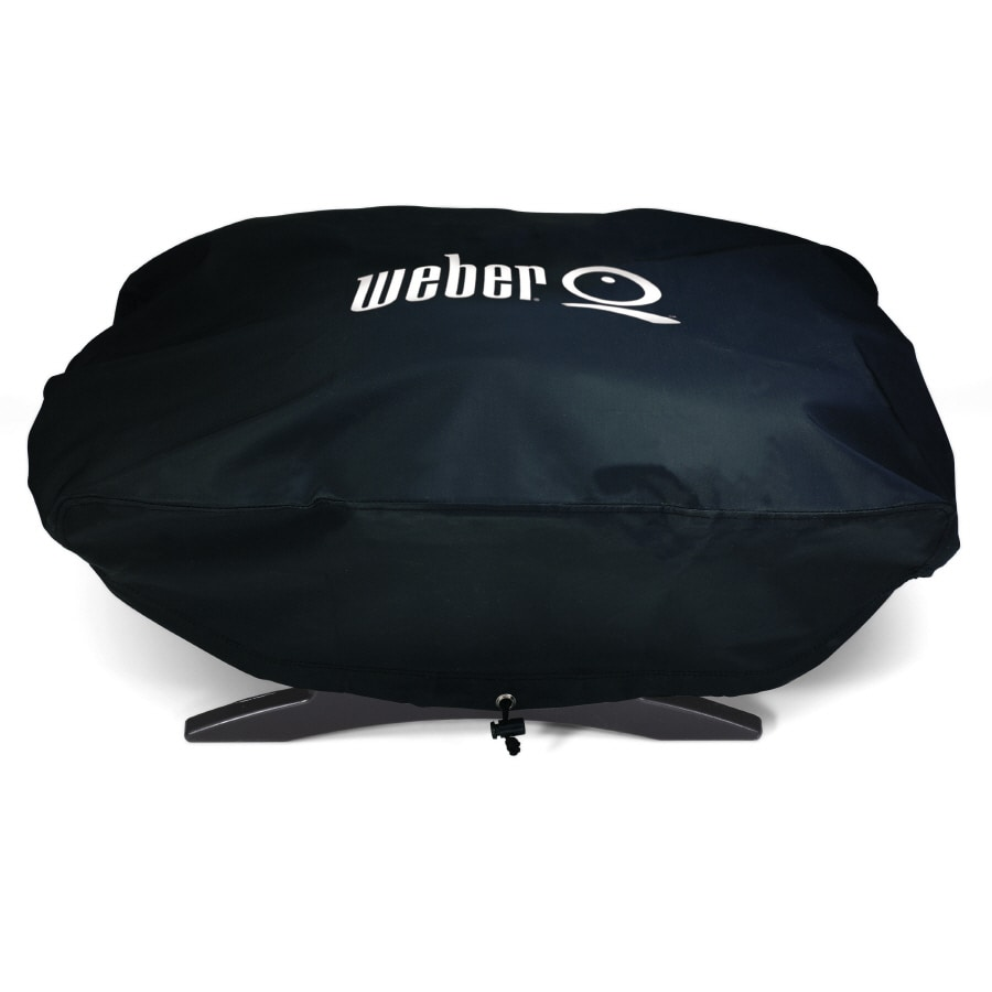 Weber 27-in x 12.5-in Vinyl Gas Grill Cover
