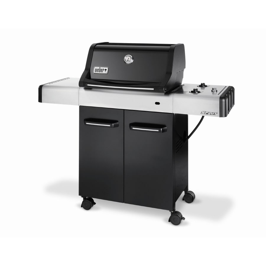 shop weber spirit e 210 2 burner liquid propane gas grill. Black Bedroom Furniture Sets. Home Design Ideas