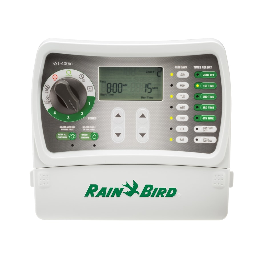 Rain Bird 4-Zone Simple-To-Set Irrigation Timer