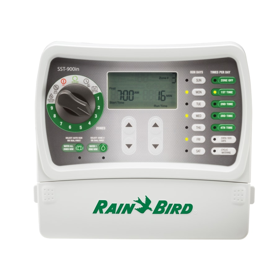 Rain Bird 9-Zone Simple-To-Set Irrigation Timer