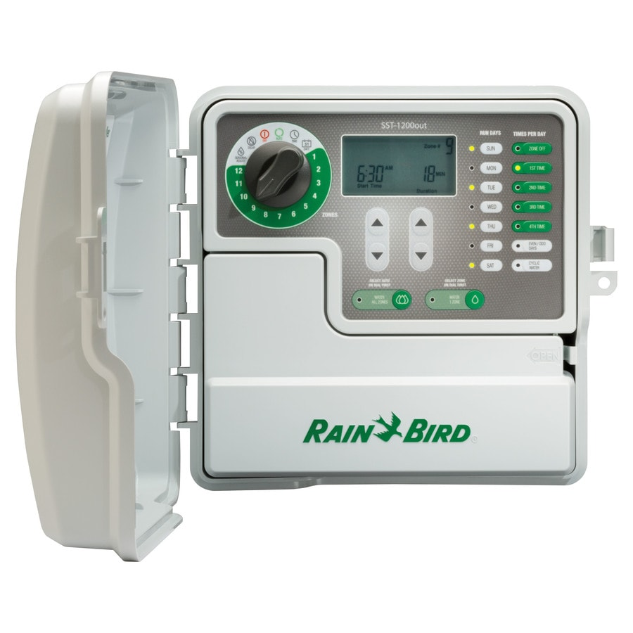 Rain Bird 12-Zone Simple-to-Set Indoor/Outdoor Irrigation Timer