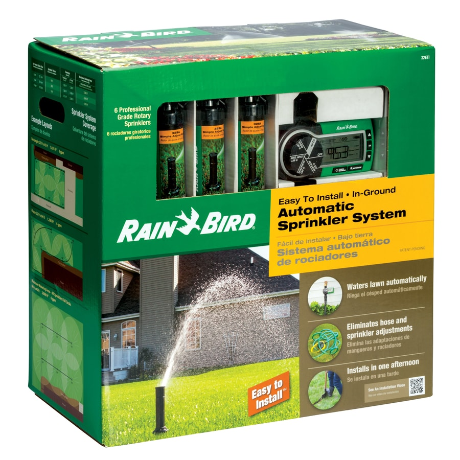 Rain Bird Easy To Install Plastic Automatic Sprinkler System