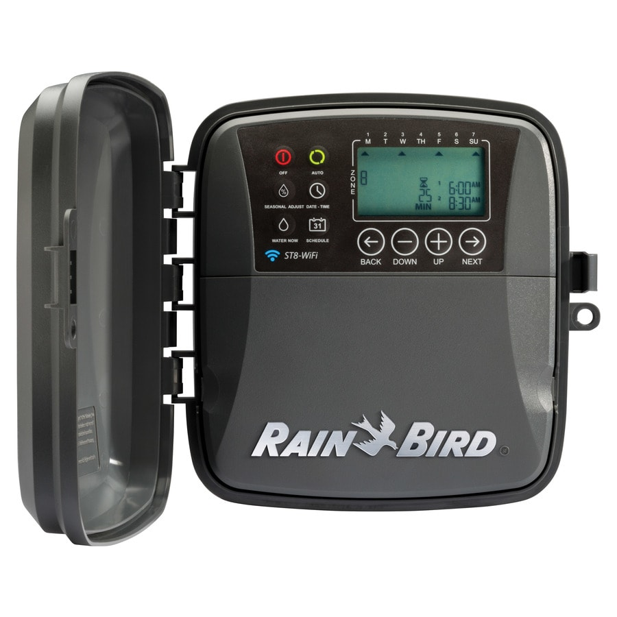 Rain Bird 8 Station Wi Fi Compatible Indoor Outdoor Irrigation Timer