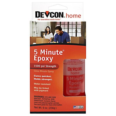 Devcon Devcon Home 2-Pack Clear Epoxy Adhesive at Lowes com