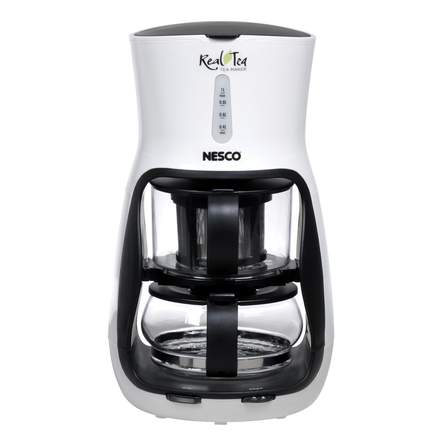 Nesco White 4-Cup Tea Maker