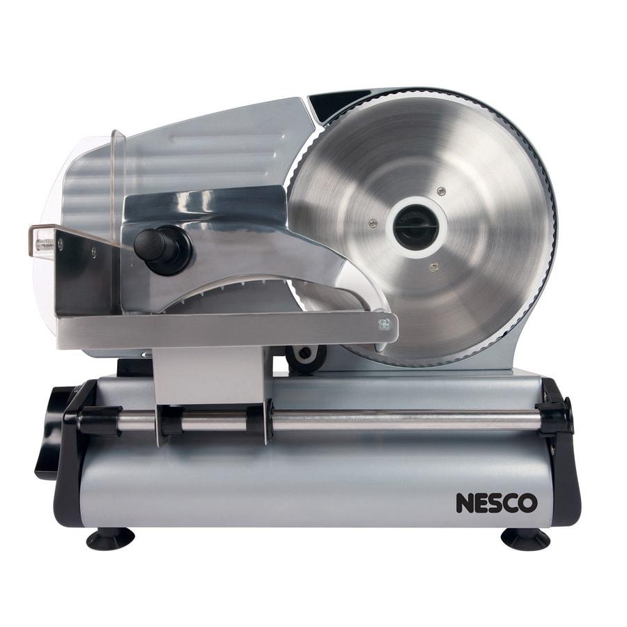 Nesco 1-Speed Stainless Steel Food Slicer