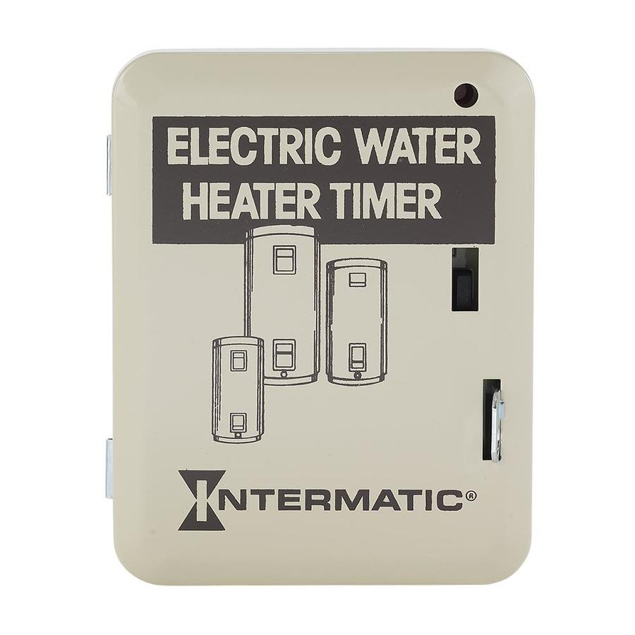 Shop Intermatic Electric Steel Water Heater Timer At
