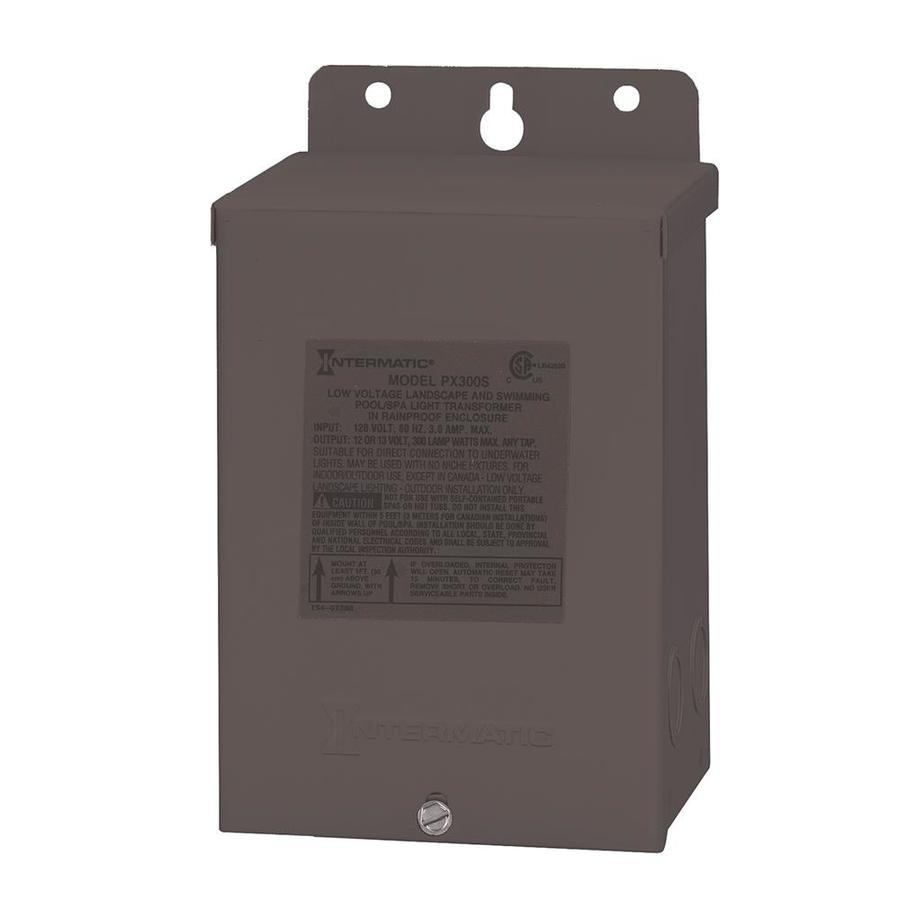 Intermatic 300 Watt 120 Volt Landscape Lighting Transformer