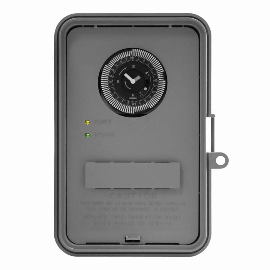 Outdoor Lighting Timer Switch Shop intermatic 40 amp mechanical residential hardwired lighting intermatic 40 amp mechanical residential hardwired lighting timer workwithnaturefo