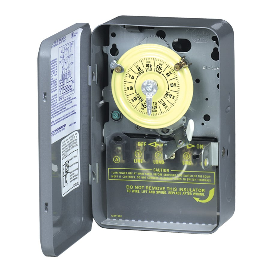 078275123878 shop intermatic electric water heater timer at lowes com hot water heater fuse box at gsmx.co