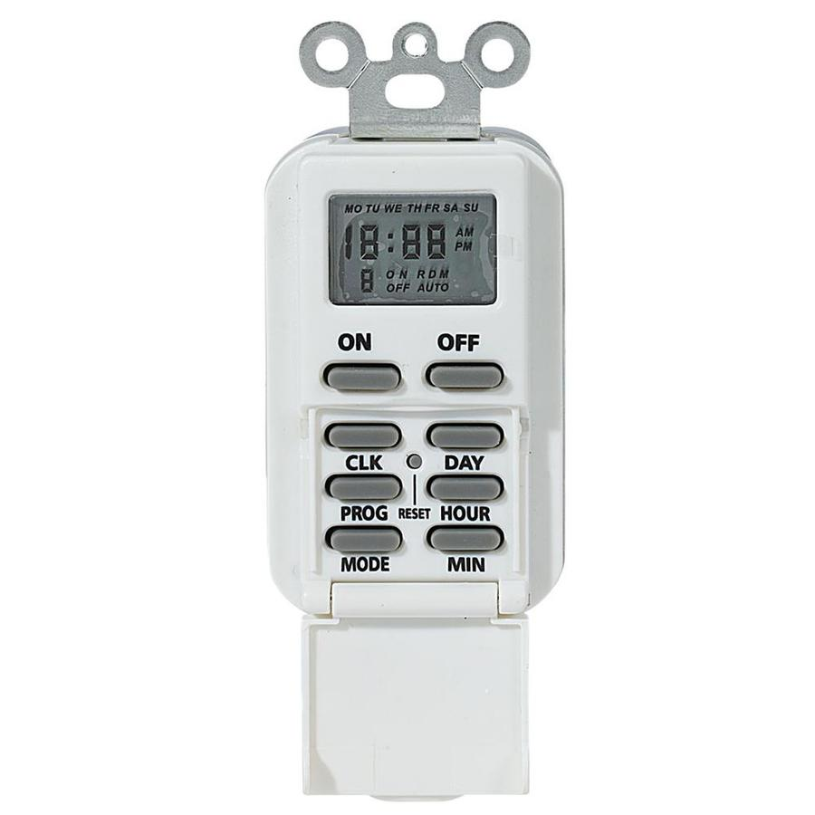 Intermatic 15-Amp Digital Residential Hardwired Lighting Timer