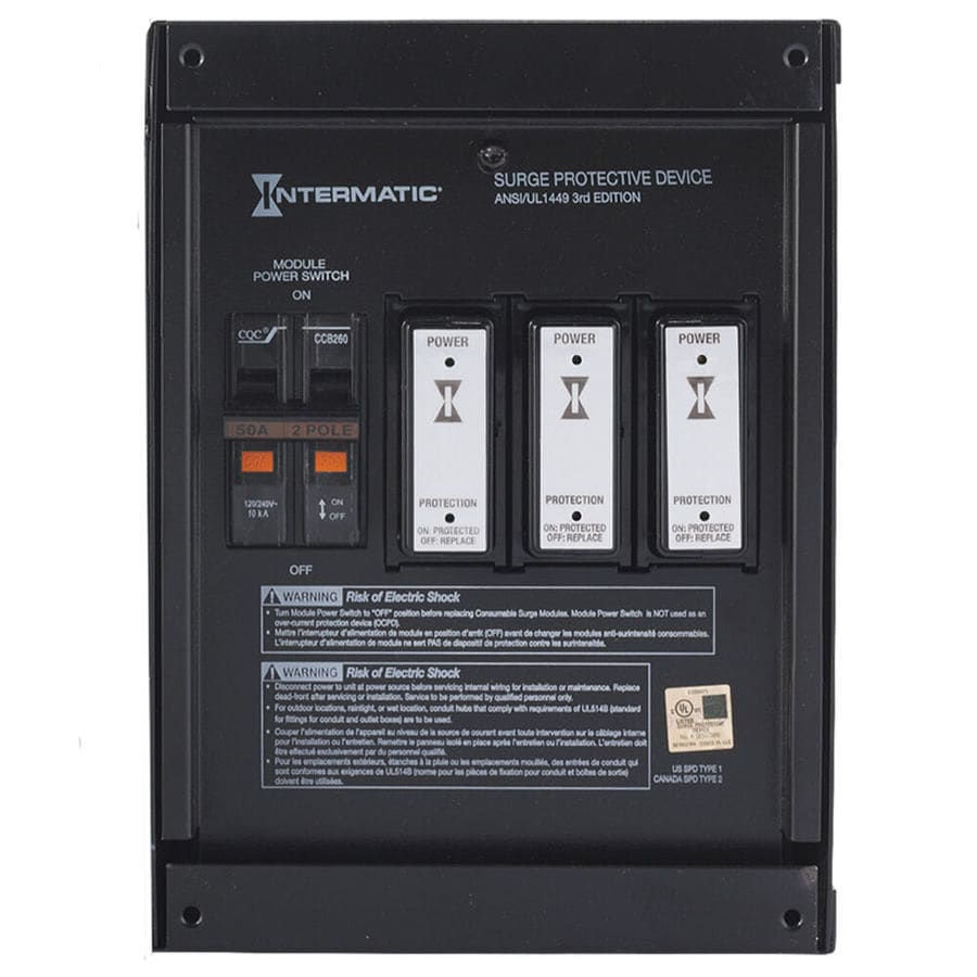 Intermatic Commercial/Residential Indoor Whole House Surge Protector
