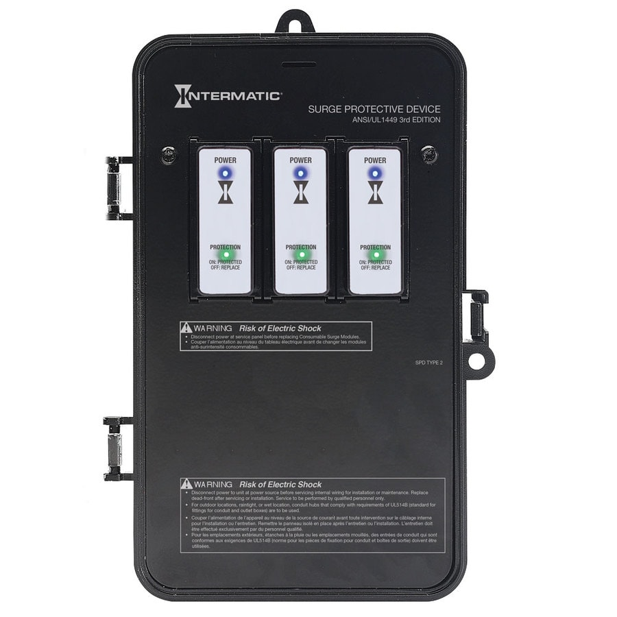 Intermatic Smart Guard; Commercial/Residential Indoor/Outdoor Whole House Surge Protector