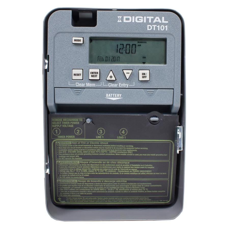 Intermatic 20-Amp Digital Residential Hardwired Lighting Timer