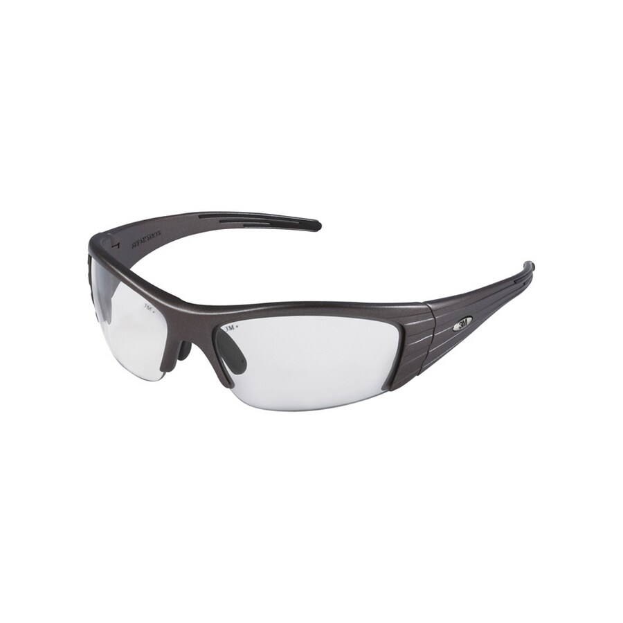 3M Gray Plastic Fuel X2 Safety Glasses