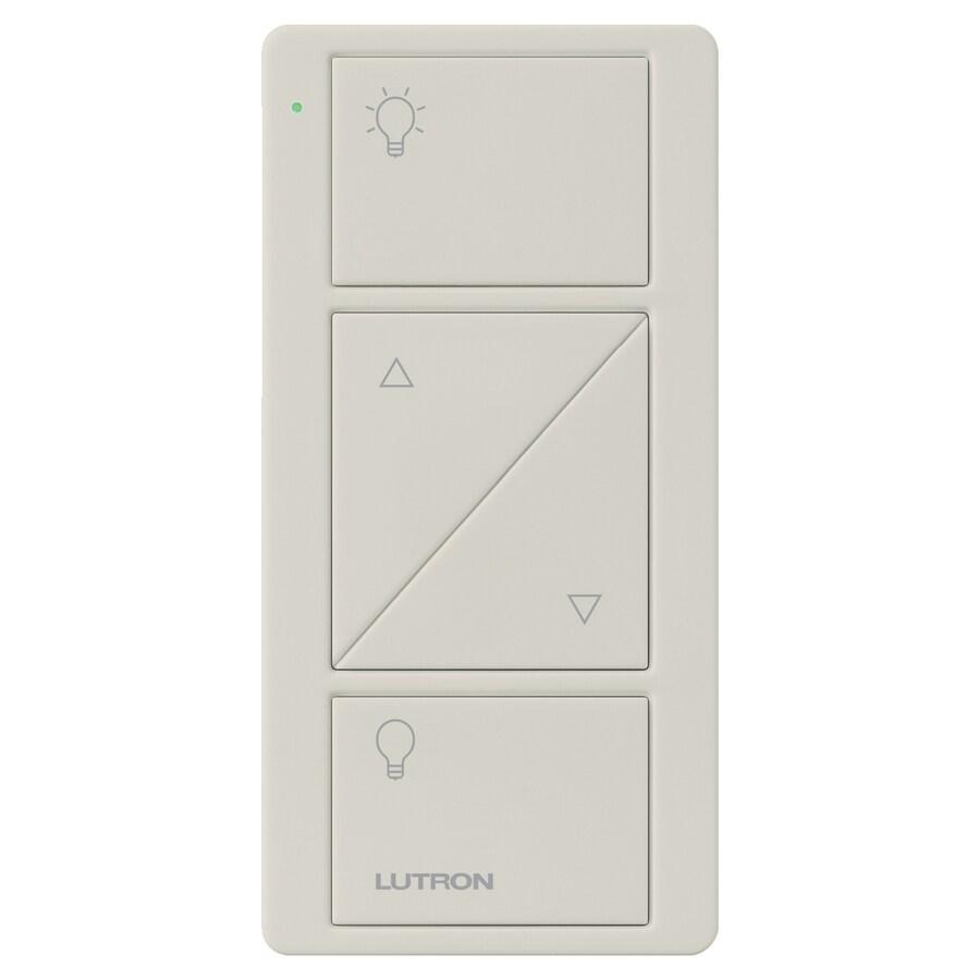 Lutron Caseta Wireless Light Almond Remote Control