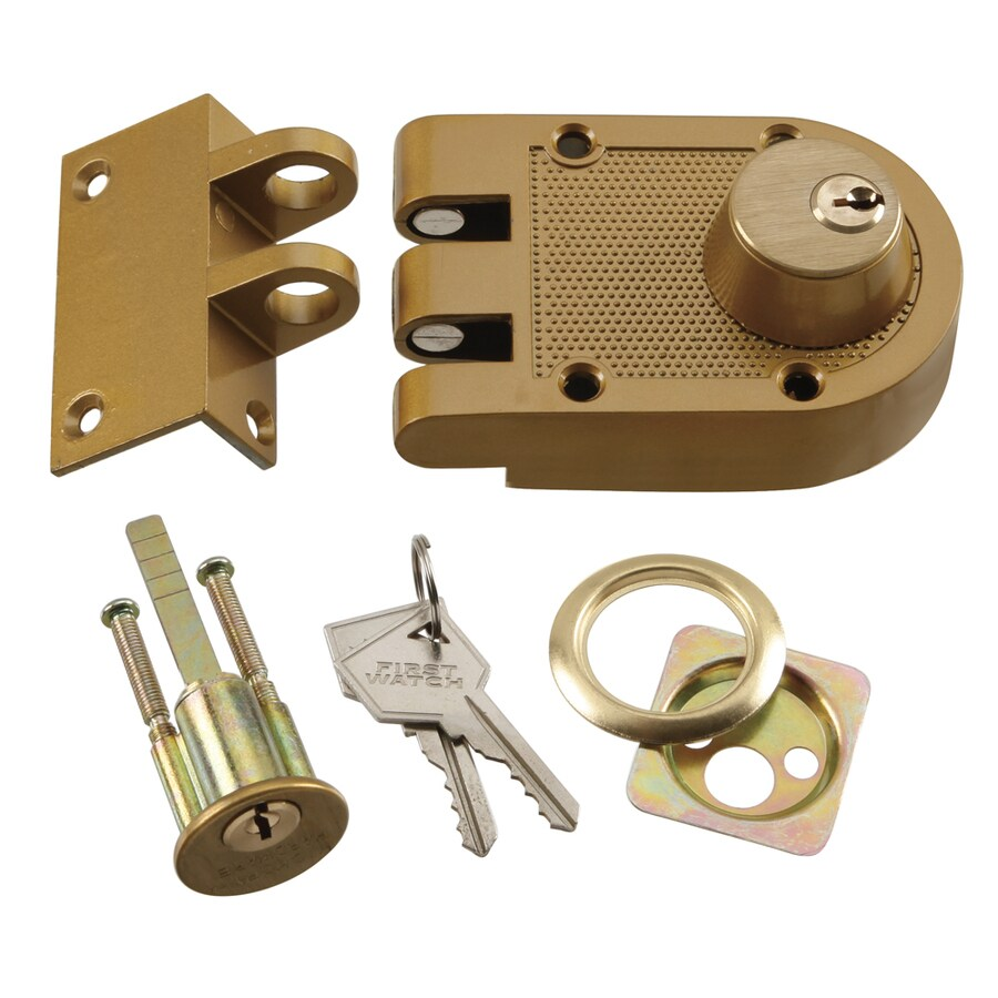 Belwith Polished Brass Double Cylinder Interlocking Deadbolt