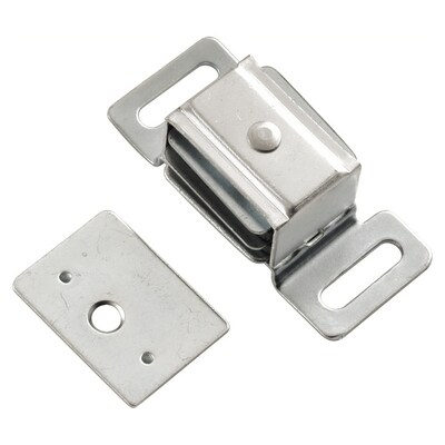 Hickory Hardware Polished Chrome Magnetic Touch Latch at