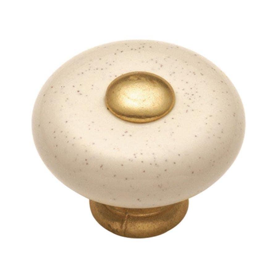 Hickory Hardware Tranquility Oatmeal Mushroom Cabinet Knob