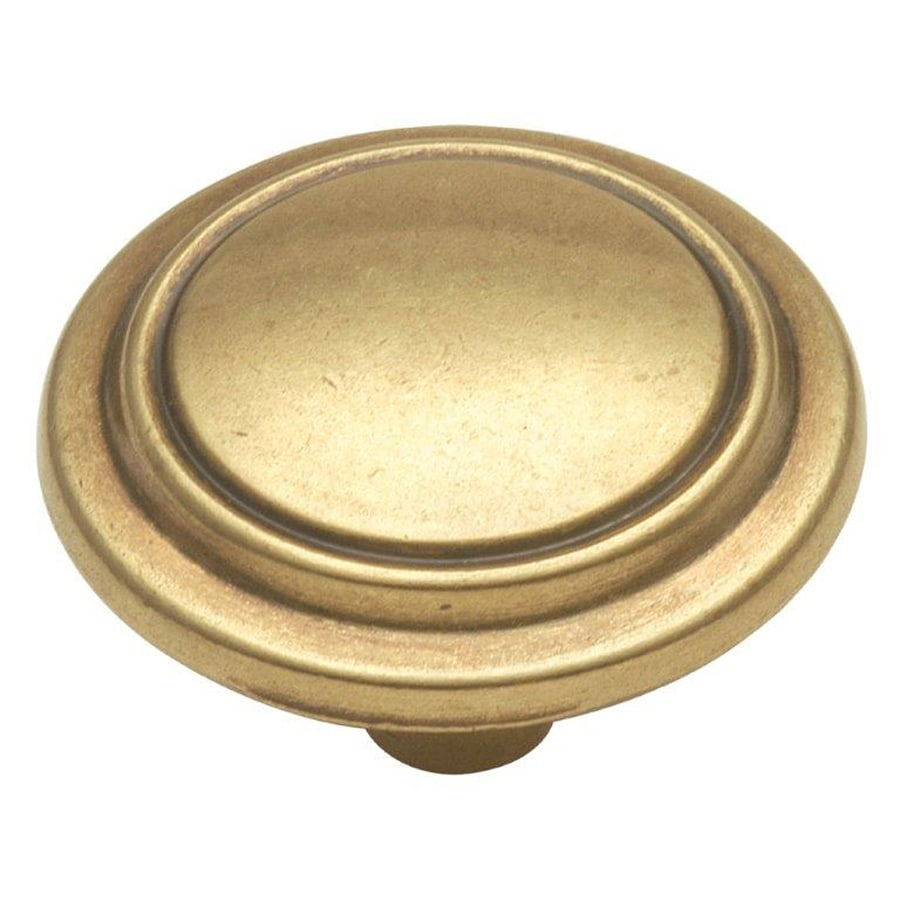 Hickory Hardware Manor House Lancaster Hand Polished Round Cabinet Knob