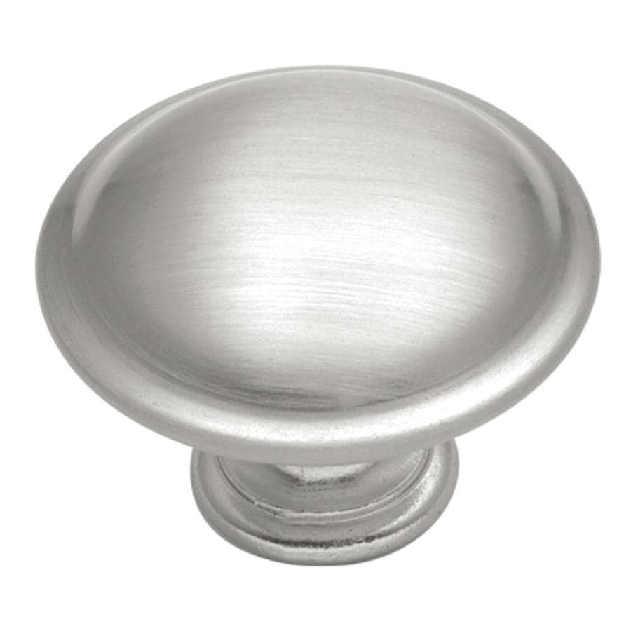 Hickory Hardware Tranquility Satin-Silver Cloud Round Cabinet Knob