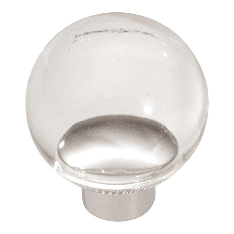 Hickory Hardware Eclectic Lucite Globe Cabinet Knob