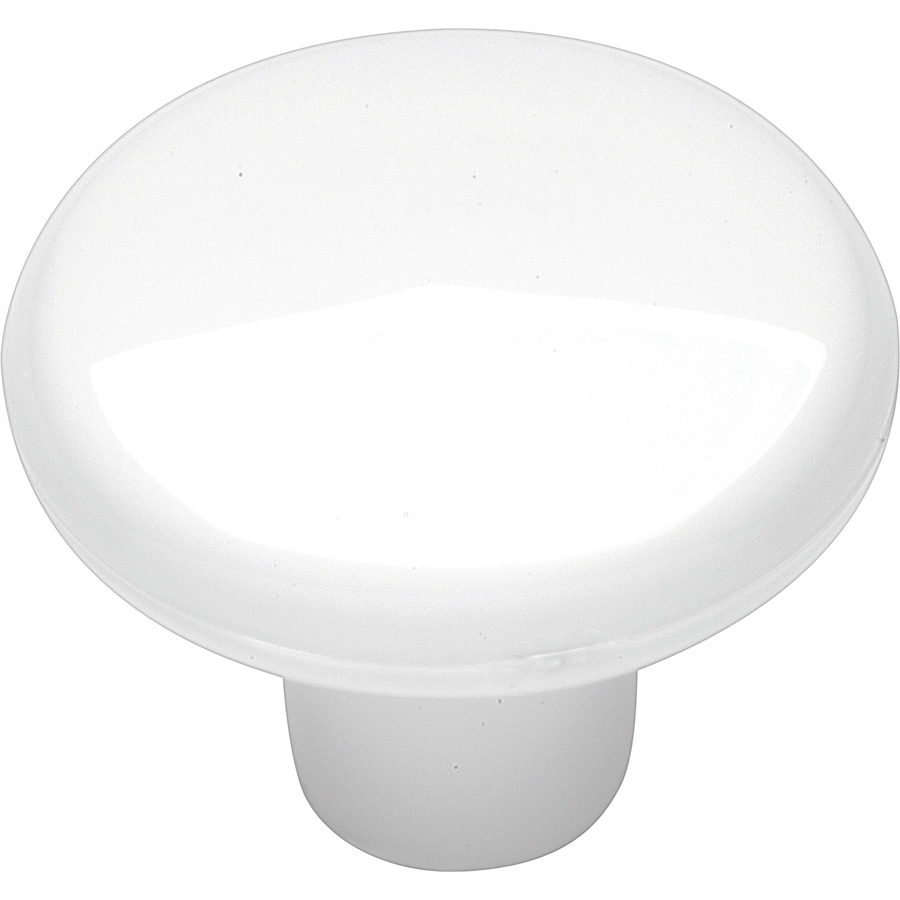 Hickory Hardware Midway White Round Cabinet Knob