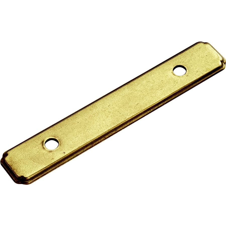 Hickory Hardware Gold Cabinet Backplate