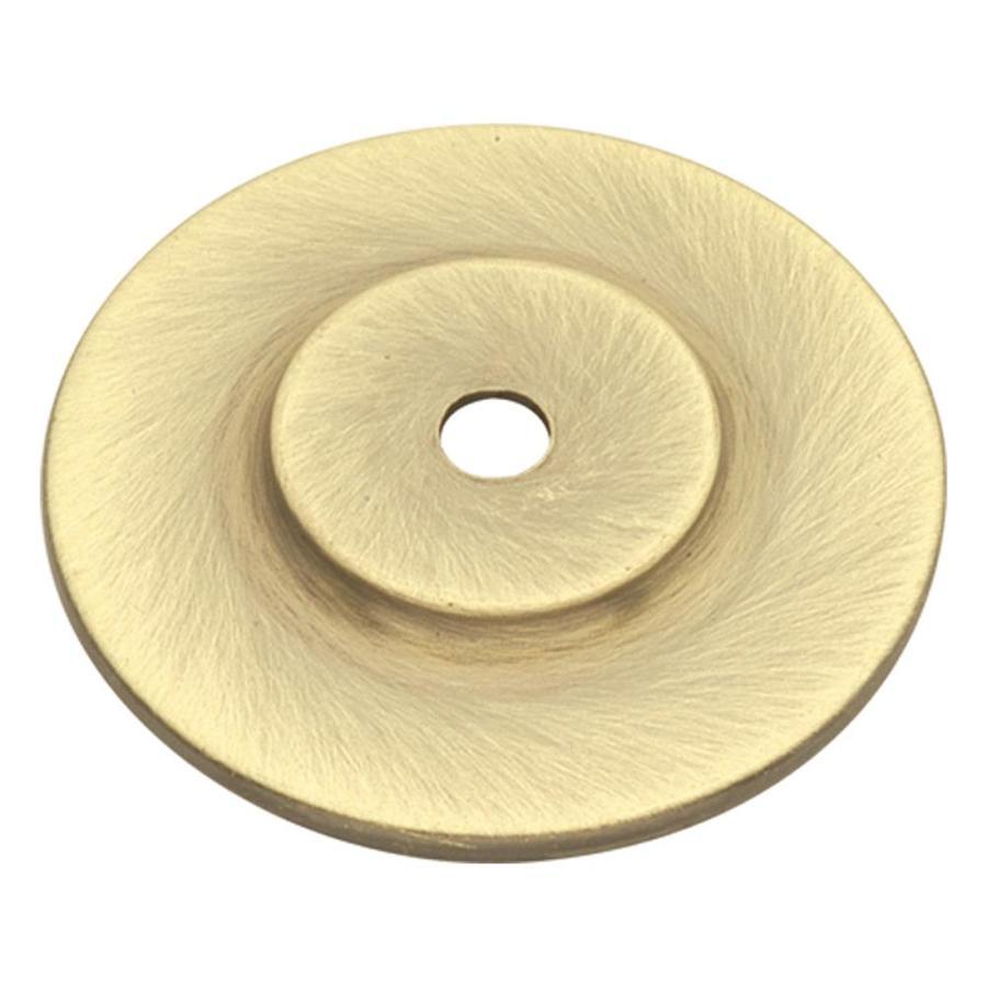 Hickory Hardware Conquest Polished Brass Octangular Cabinet Knob