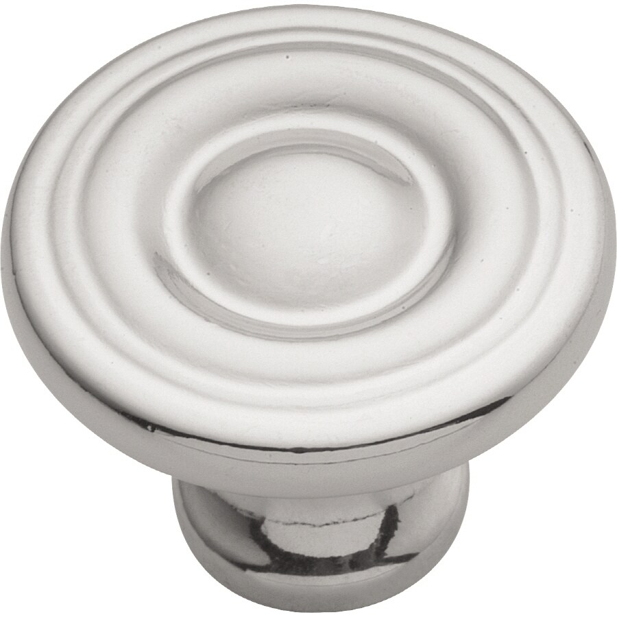 Hickory Hardware Conquest Chrome Round Cabinet Knob