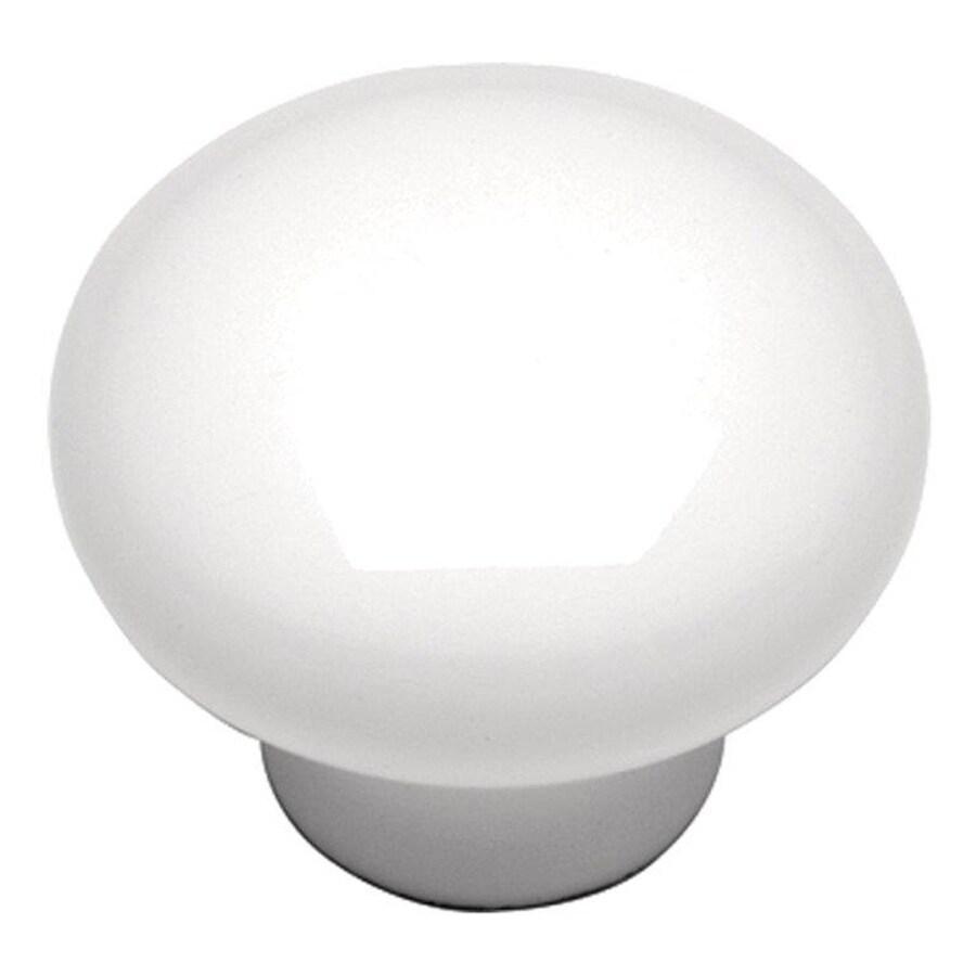 Hickory Hardware Tranquility White Mushroom Cabinet Knob