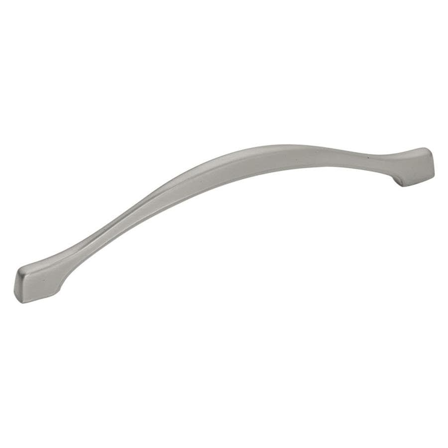 Hickory Hardware 128mm Center-to-Center Satin Nickel Metropolis Arched Cabinet Pull