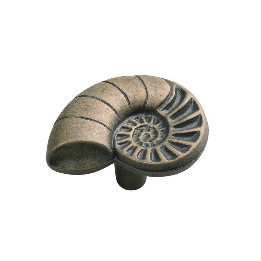 Hickory Hardware South Seas Antique Mist Round Cabinet Knob