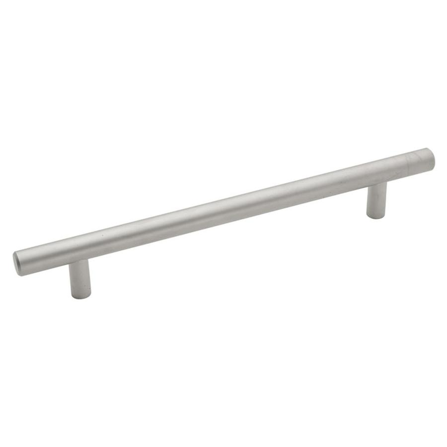 Hickory Hardware 160mm Center-to-Center Pearl Nickel Metropolis Bar Cabinet Pull