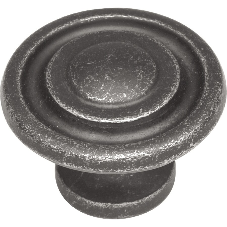 Hickory Hardware South Seas Vibra Pewter Round Cabinet Knob
