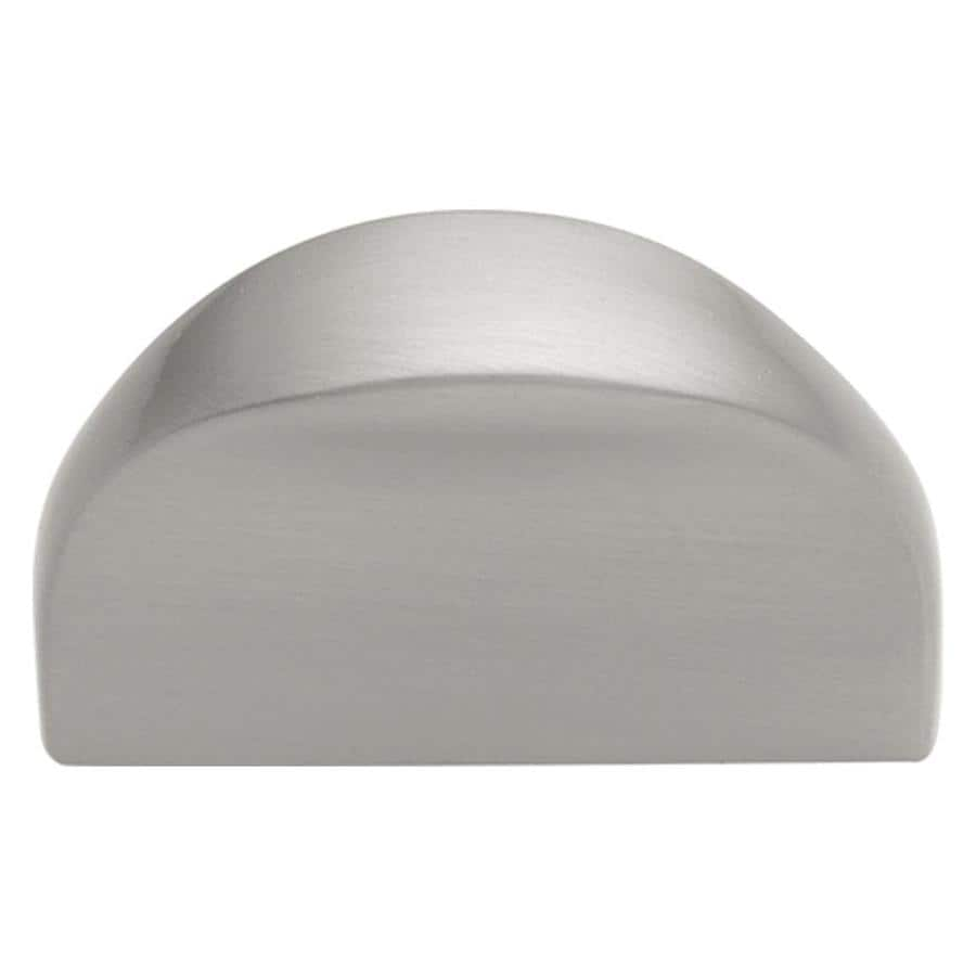 Hickory Hardware 32mm Center-to-Center Satin Nickel Metropolis Cup Cabinet Pull