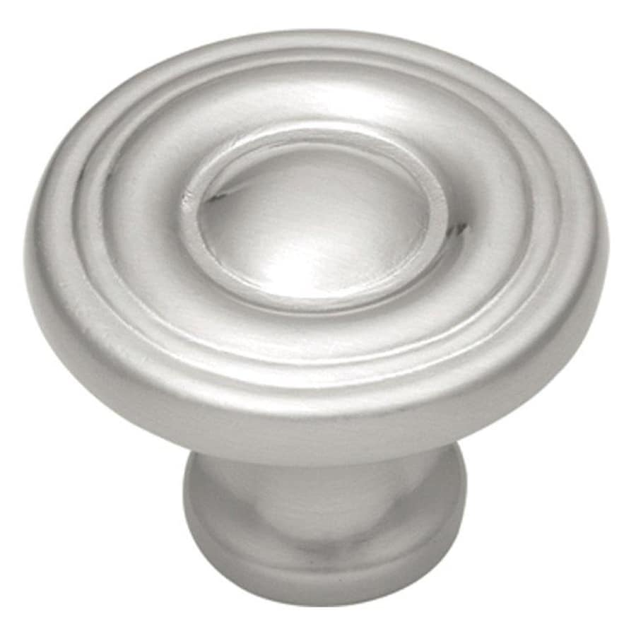 Hickory Hardware Conquest Satin Nickel Round Cabinet Knob