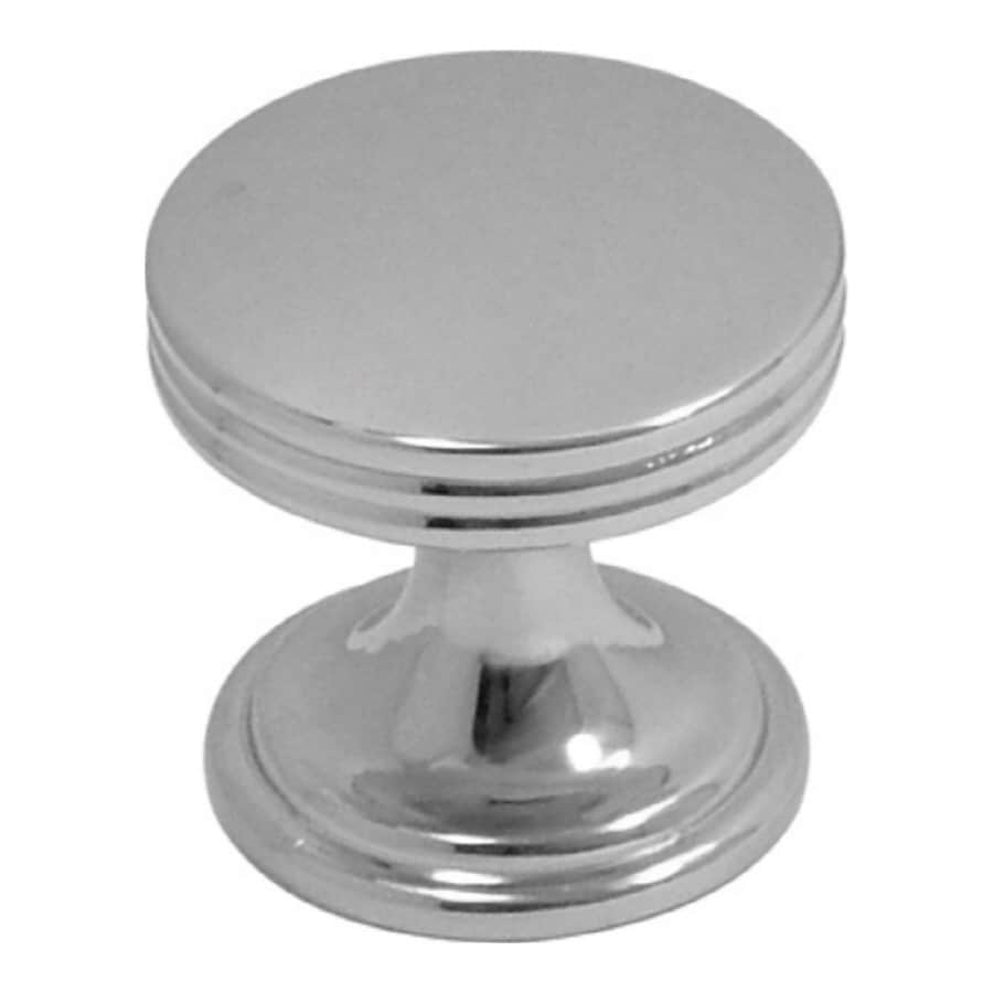 chrome kitchen cabinet knobs shop hickory hardware american diner chrome cabinet 5420
