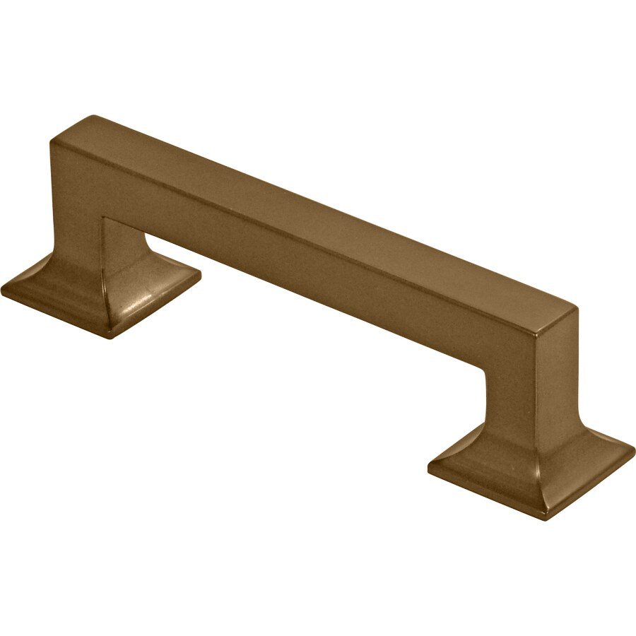Hickory Hardware 96mm Center-to-Center Veneti Bronze Studio Rectangular Cabinet Pull